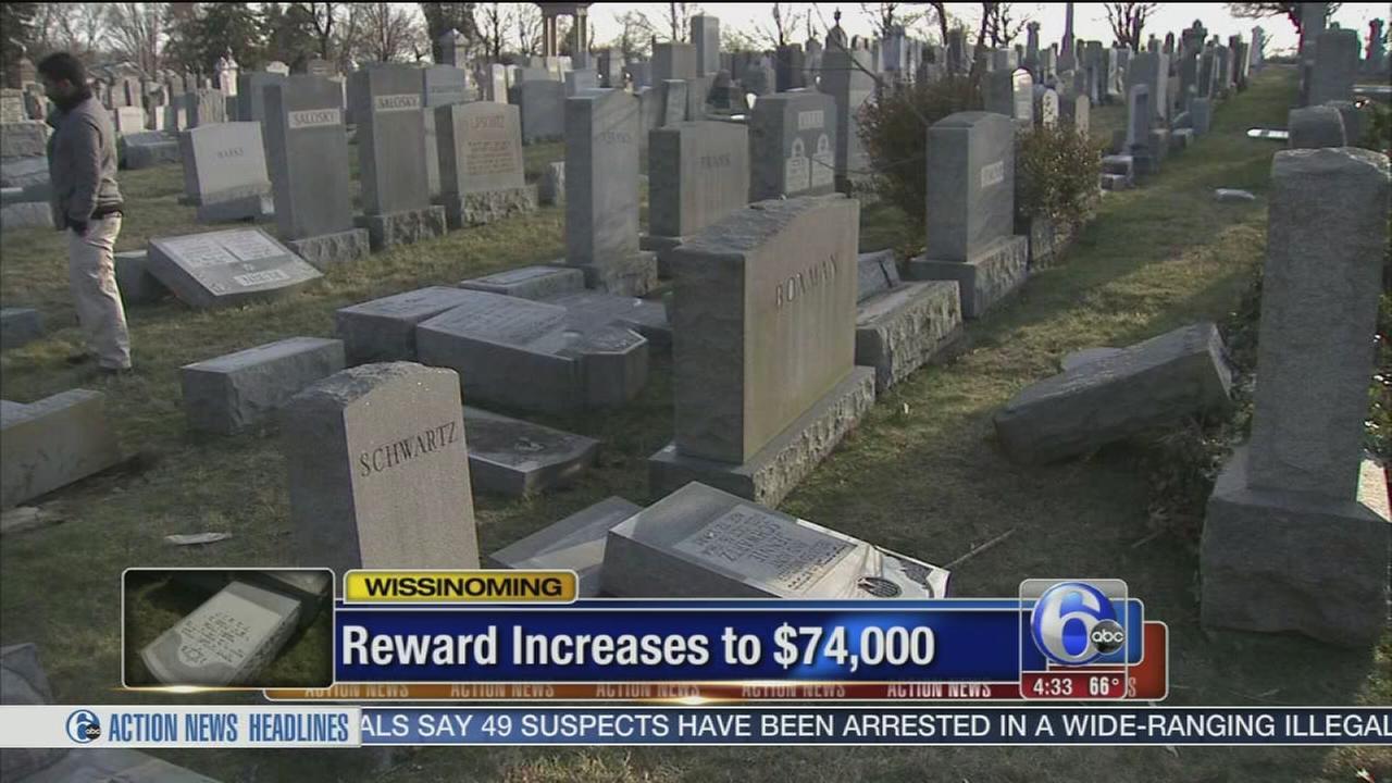 VIDEO: Reward increased in Jewish cemetery vandalism
