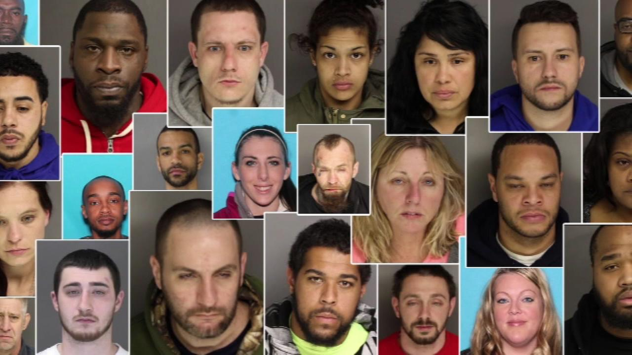 VIDEO: Major drug bust results in 49 arrests in Chesco