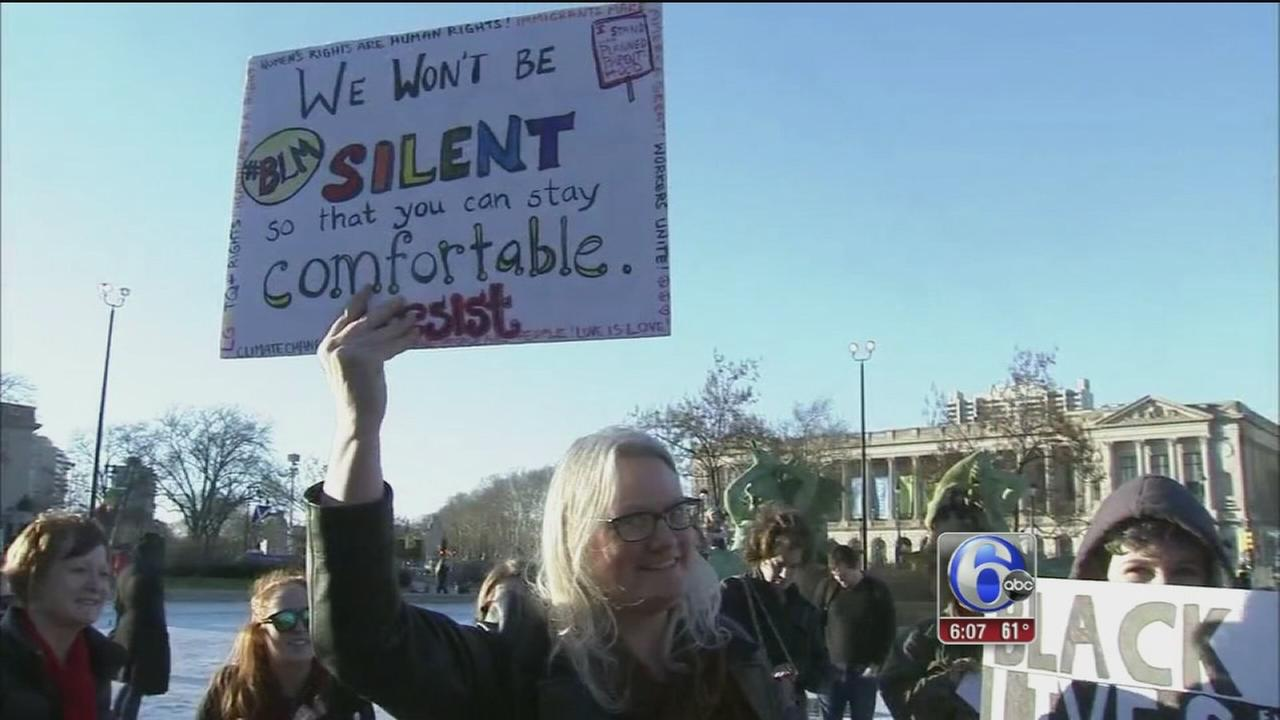 Local women rally for A Day Without a Woman