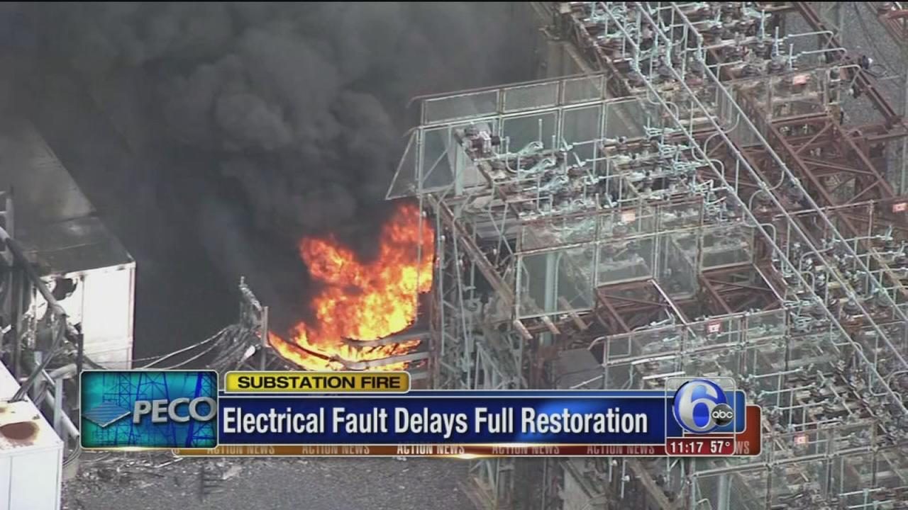 PECO working to restore power after North Phila. fire