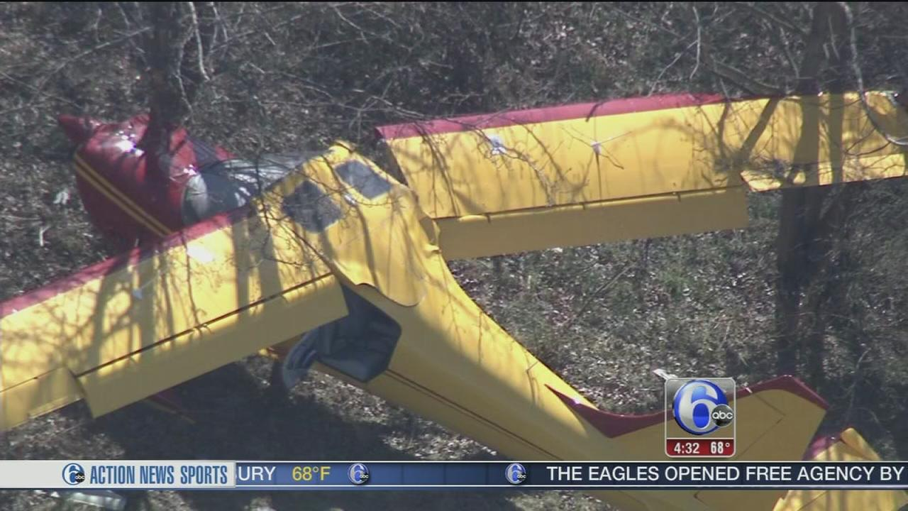 Pilot hurt after small plane crashes in Mercer Co.