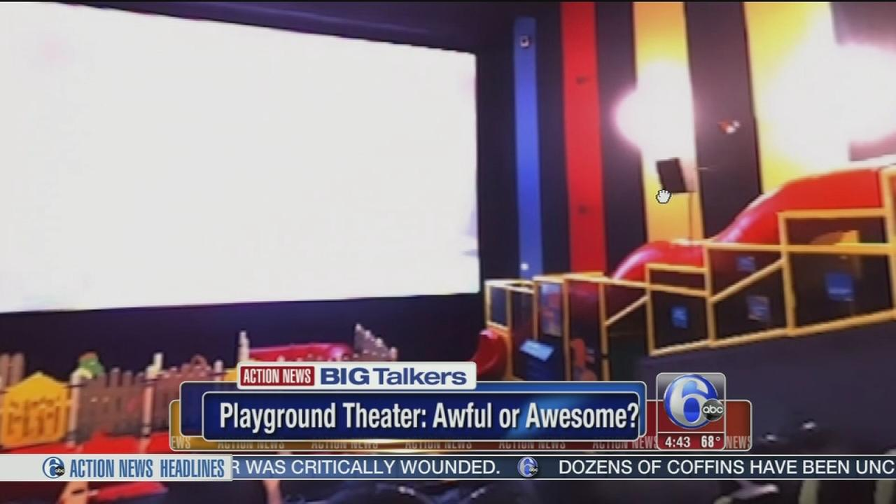 Theater chain to feature playground for kids