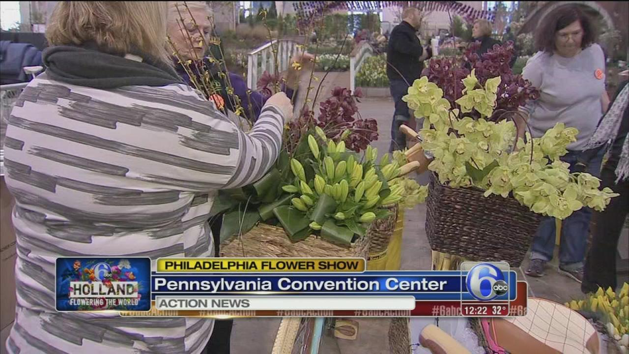 2017 Philadelphia Flower Show taking shape