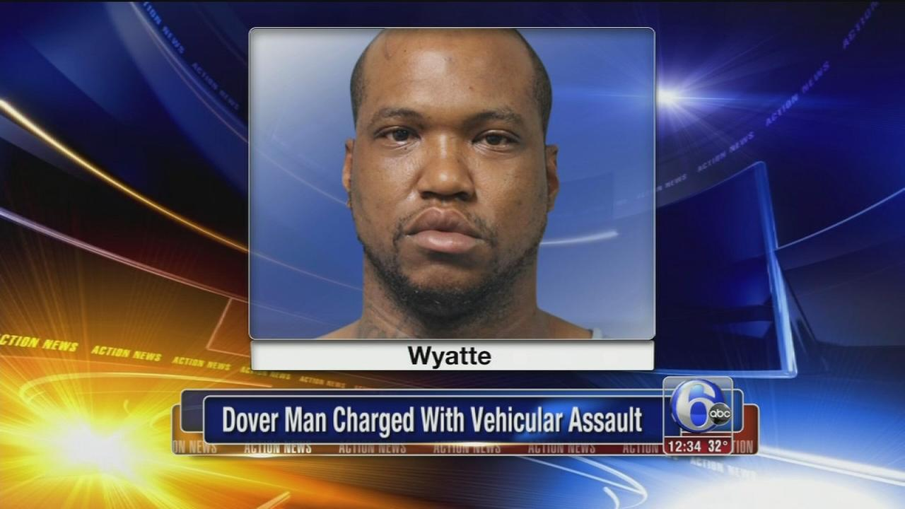 Police: Man assaulted woman with SUV