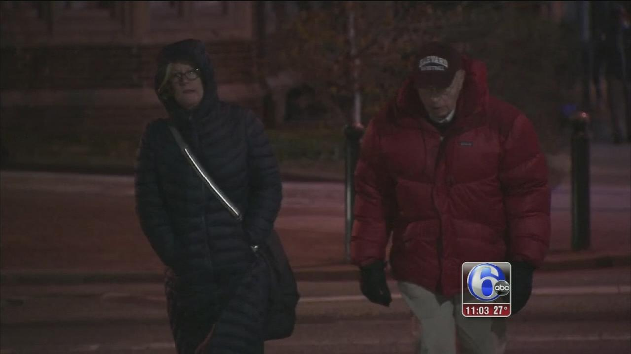 Days before spring, frigid temps in Philadelphia