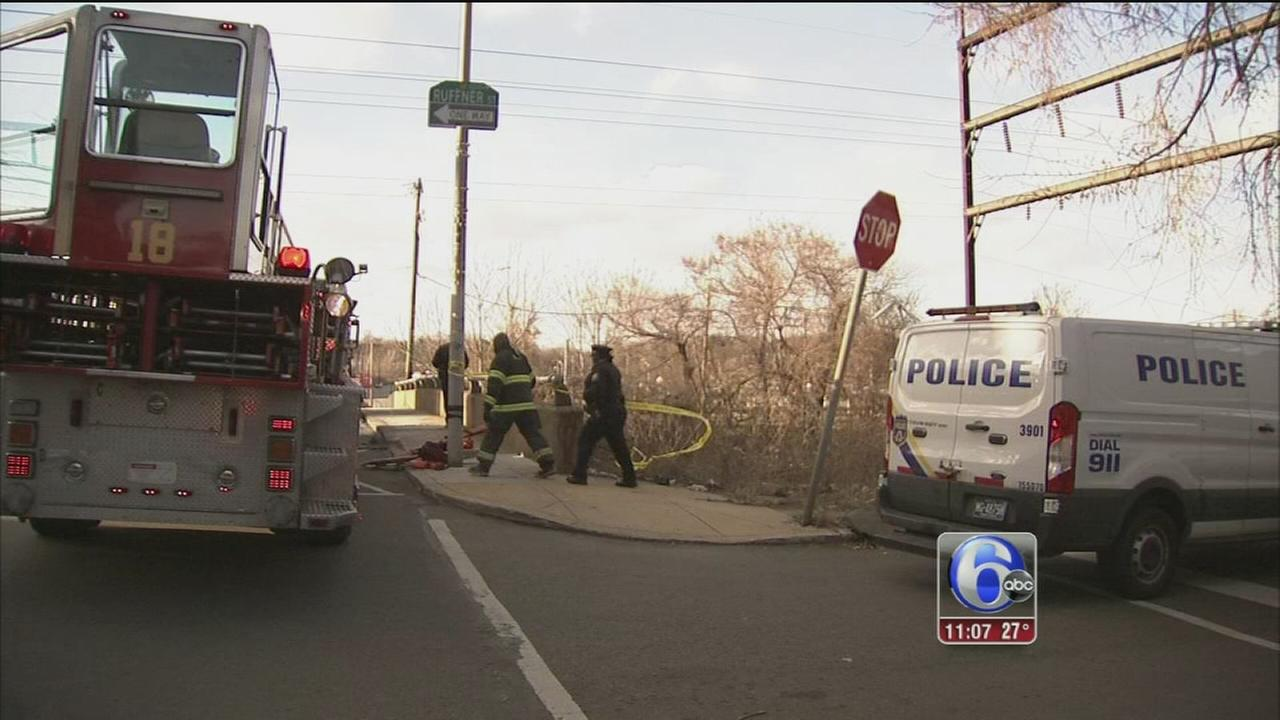 Police investigating suspicious death in Hunting Park
