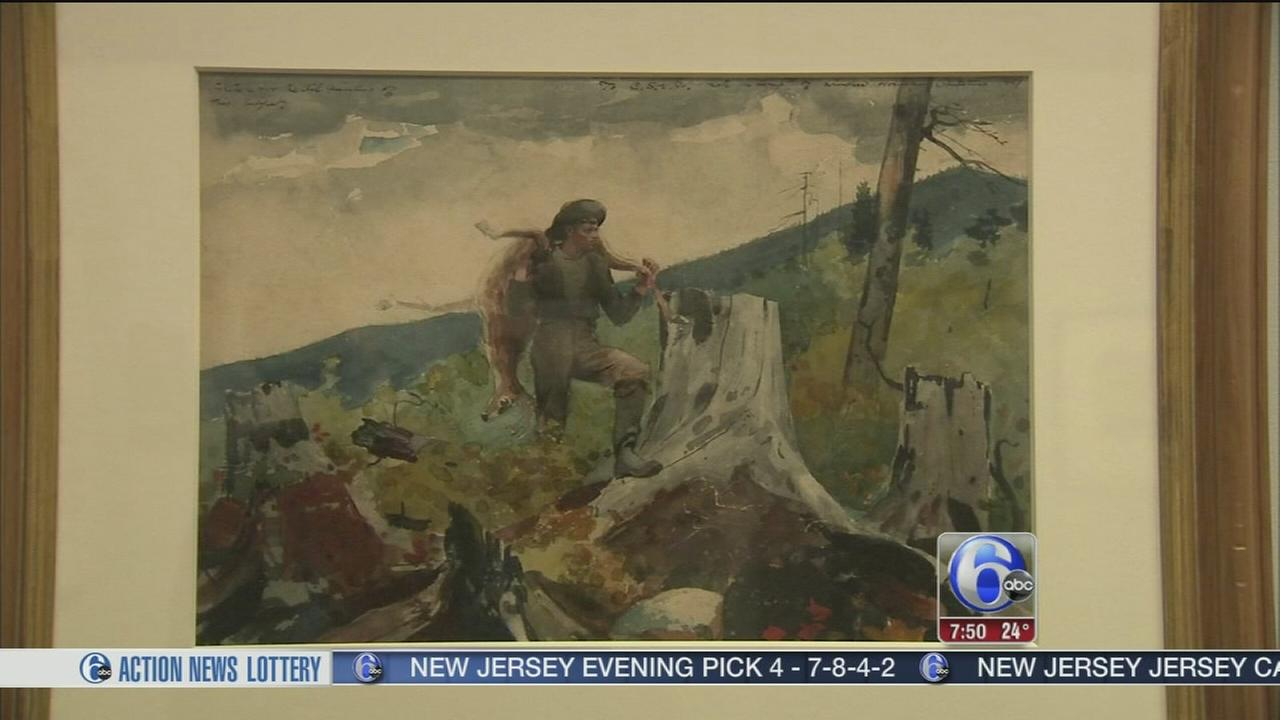 6abc Loves the Arts: American Watercolor exhibit
