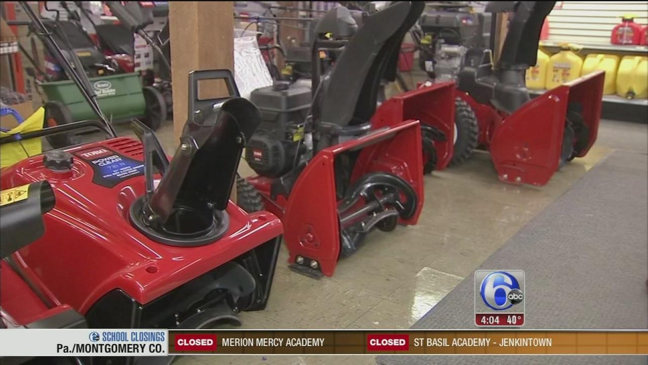 Lehigh Valley prepares for major snowfall