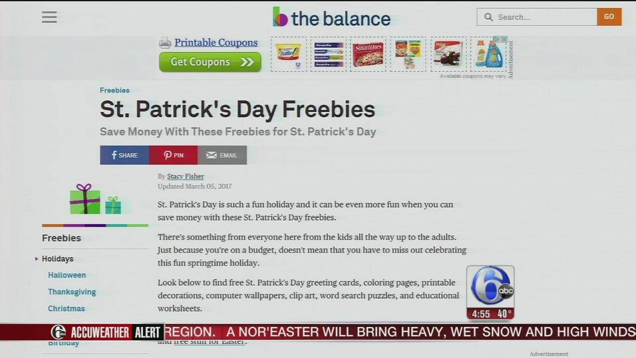 St. Patricks Day savings and deals