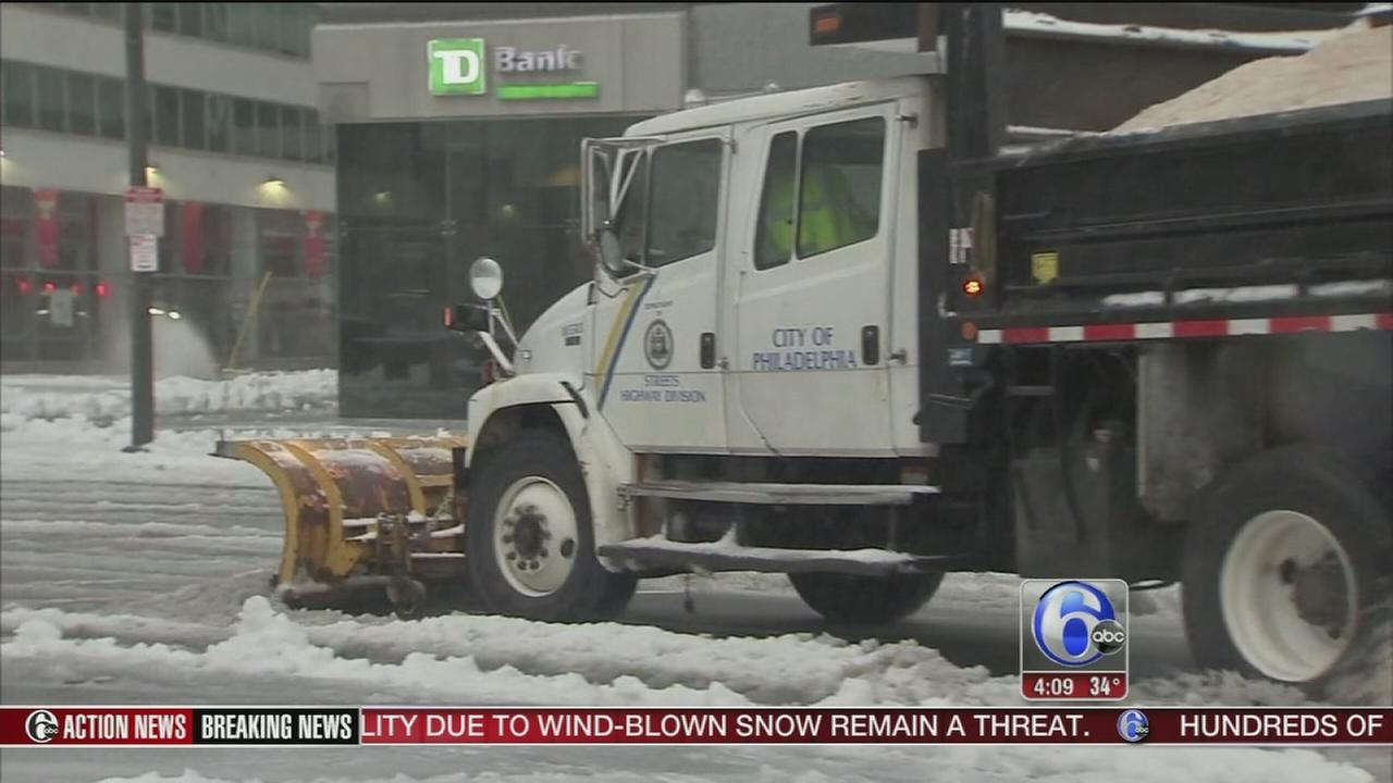 Center City returning to normal after noreaster