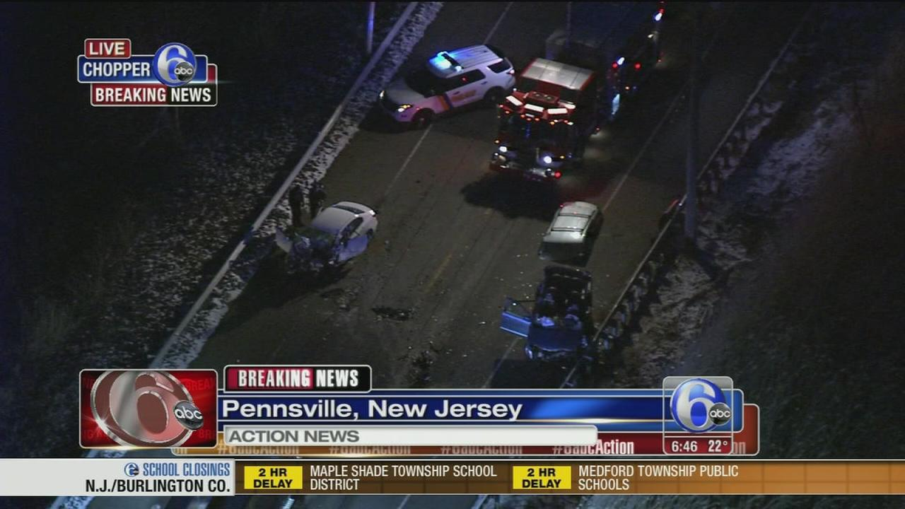 Serious crash in Pennsville, N.J.