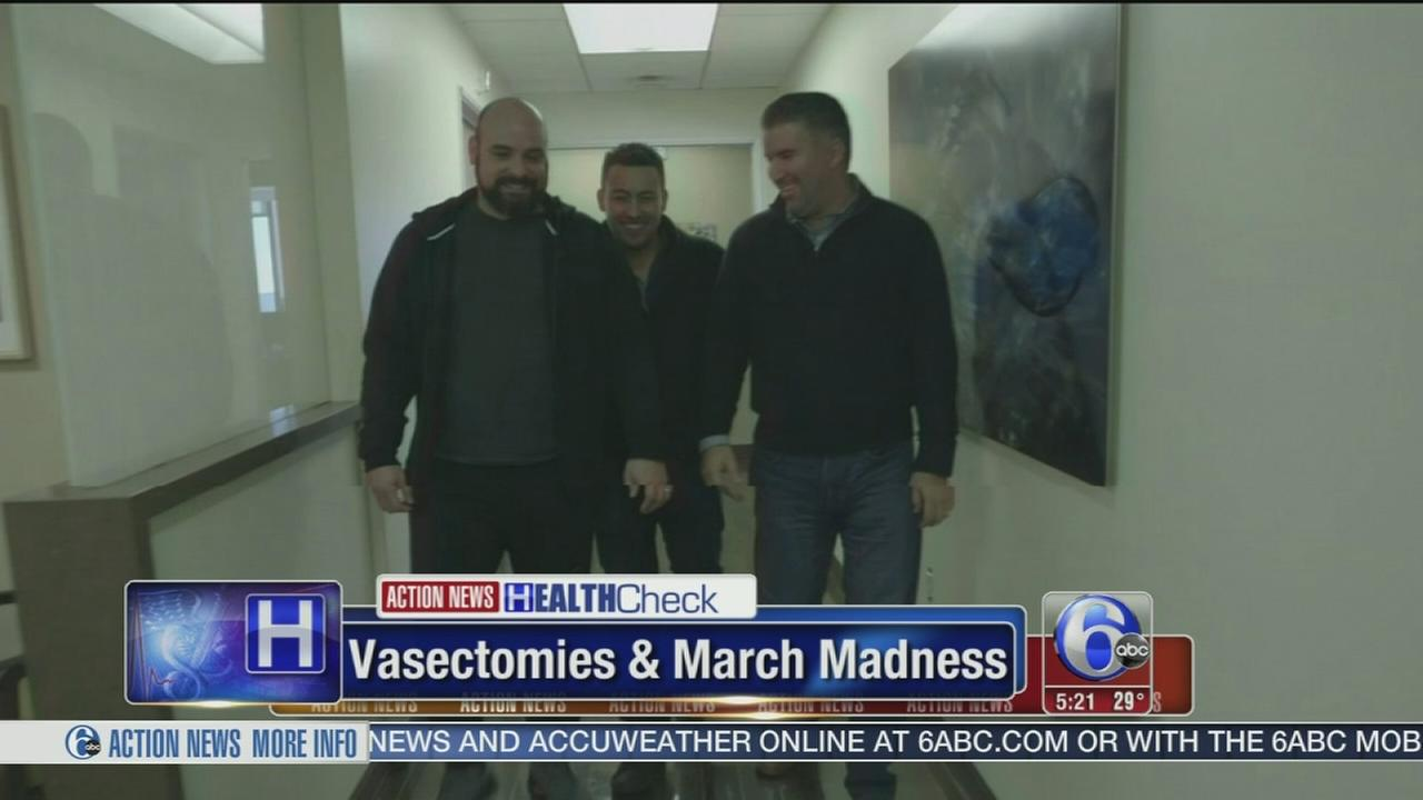 Vasectomy procedures spike during March Madness