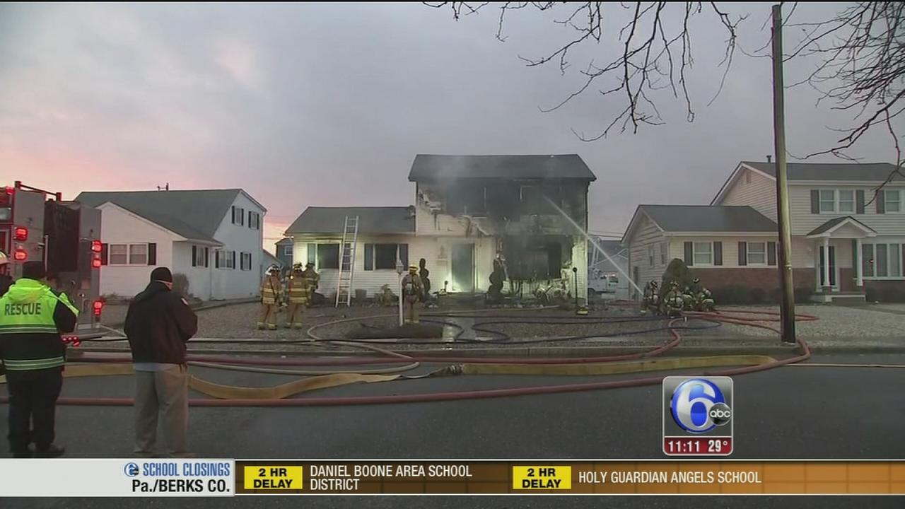 Fire destroys Cape May County house