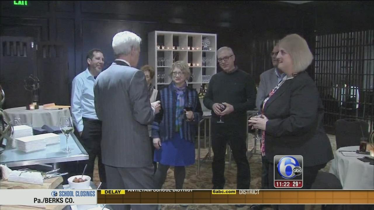 Alex Trebek meets with fans in Philadelphia
