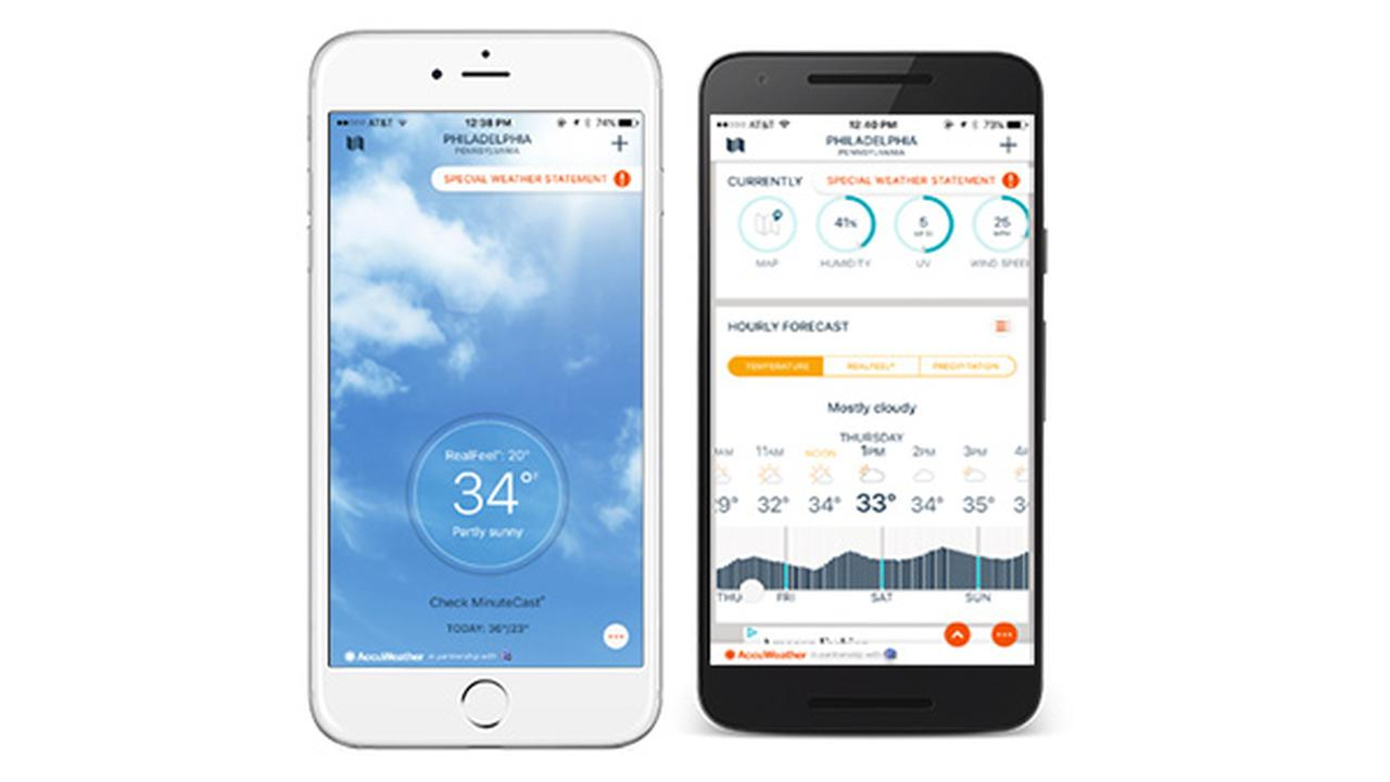 Download the AccuWeather app today!