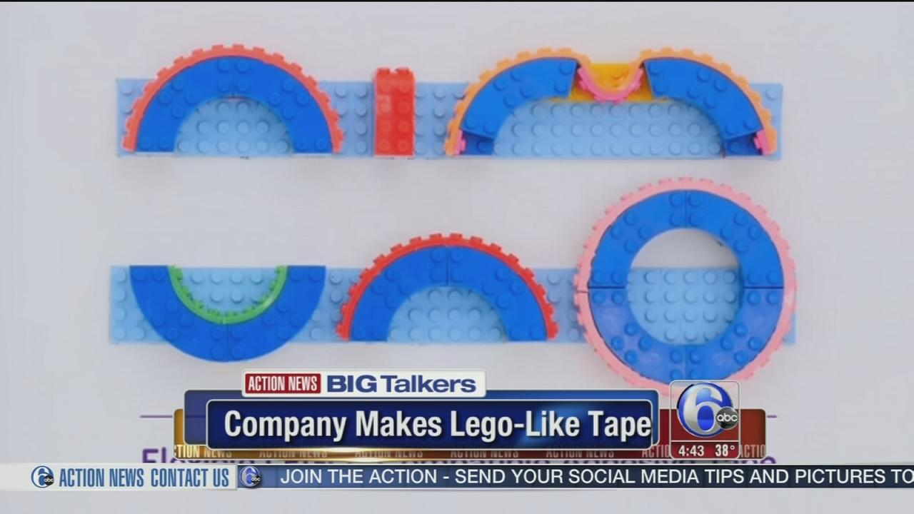 Company crowdfunds Lego-like tape