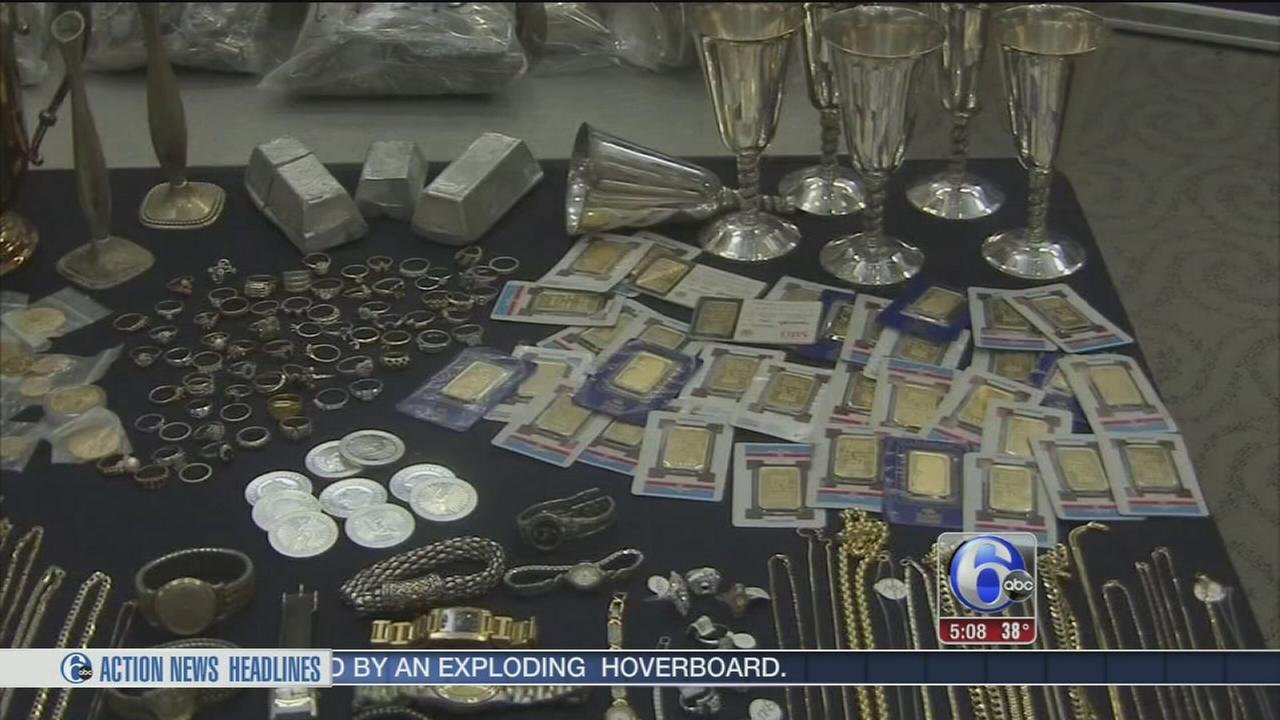 Officials seek to find owners of 50,000 stolen items