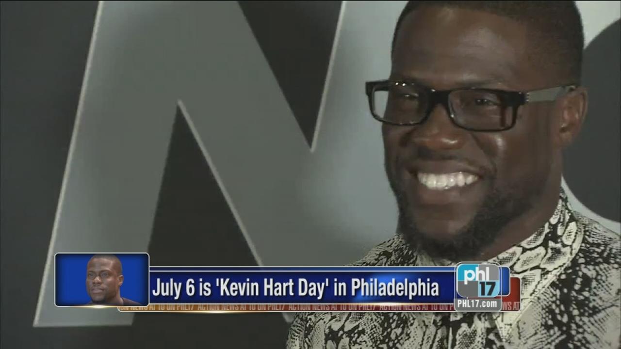 July 6 is Kevin Hart Day in Philadelphia