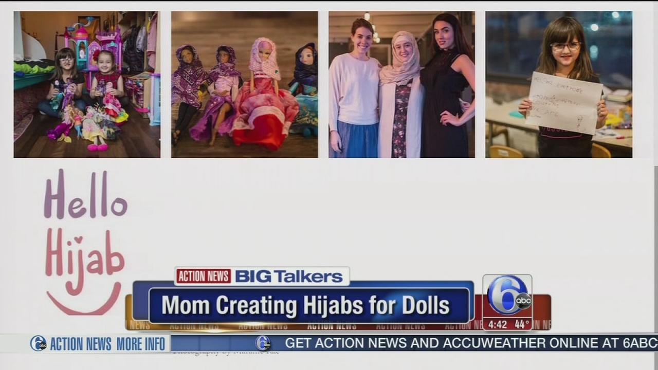 Pennsylvania mom creates hijab for dolls