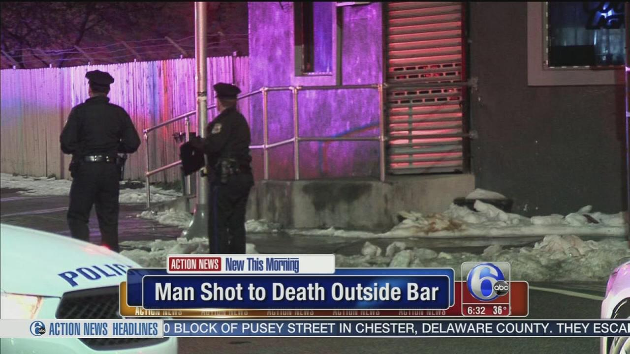 Man killed outside North Philadelphia bar
