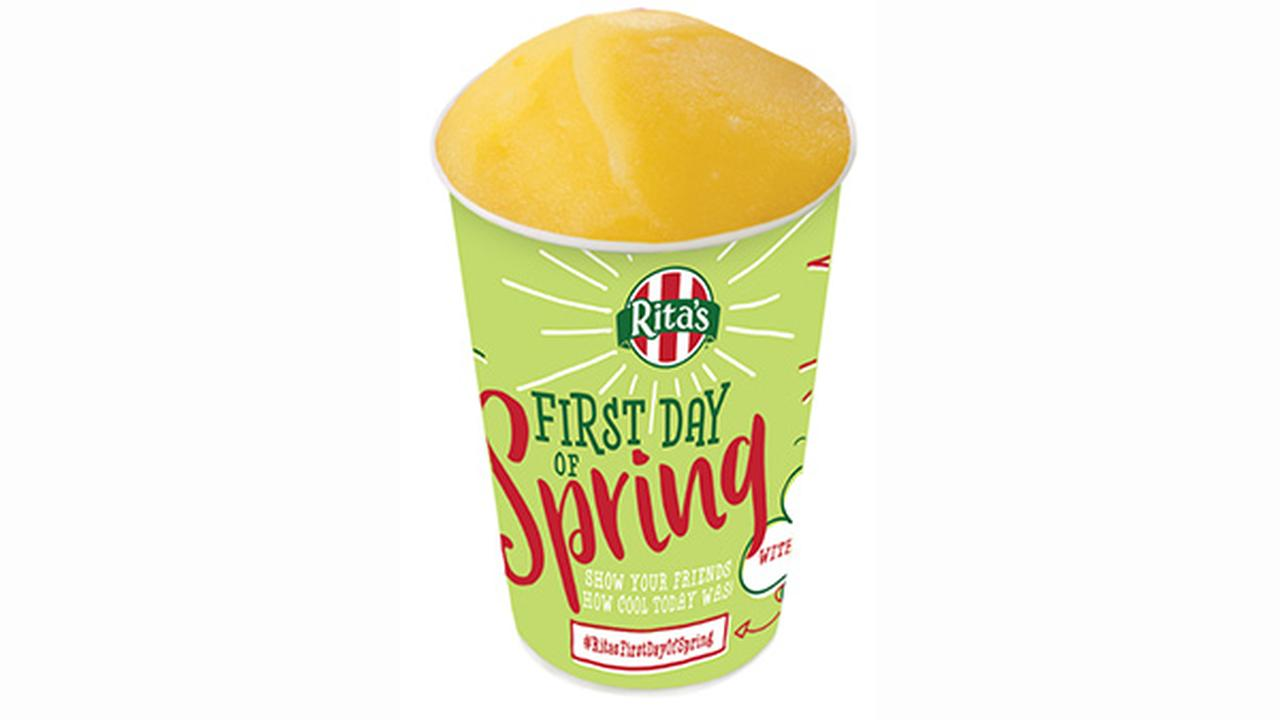 Free Italian Ice at Rita's for 1st day of spring