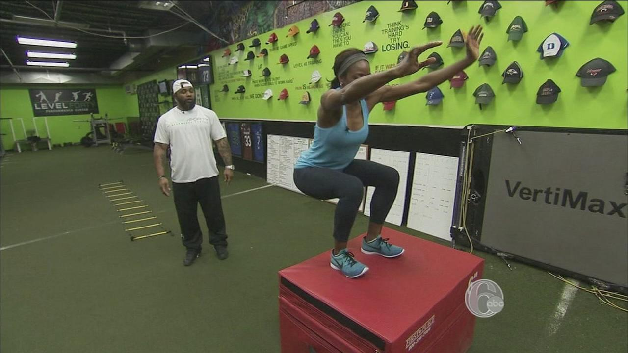 VIDEO: FYI Philly Level 40 workout