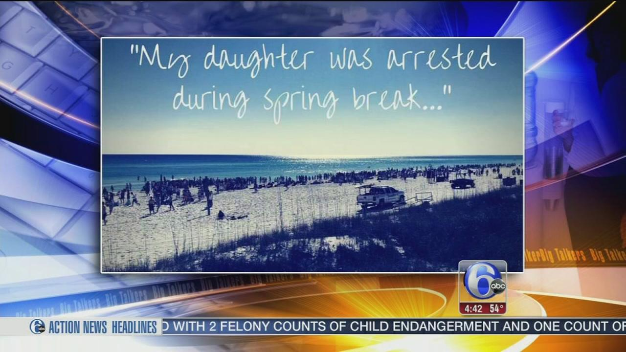Mom sends thank you note to police for arresting daughter
