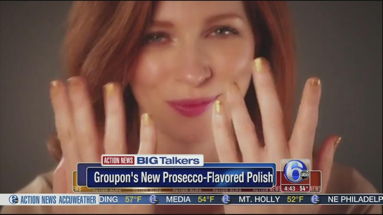 Groupon selling Prosecco-flavored nail polish