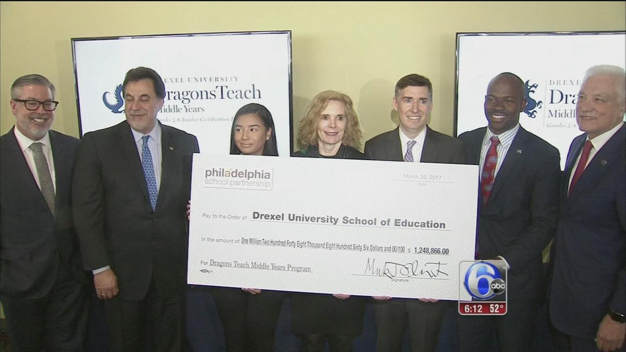 Philadelphia School Partnership grant