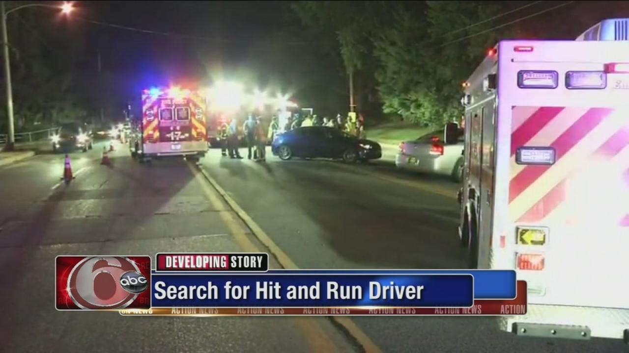 VIDEO: Man critical after Del. hit-and-run