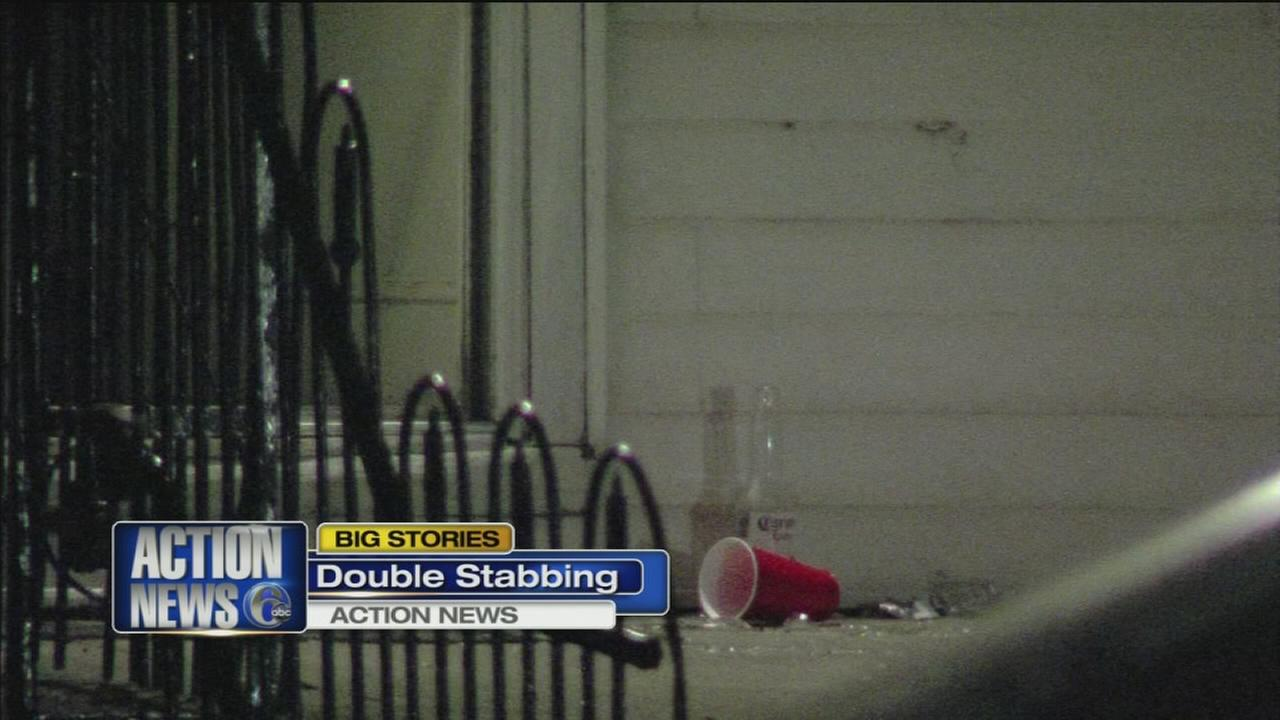 VIDEO: 2 stabbed during NE Phila. party