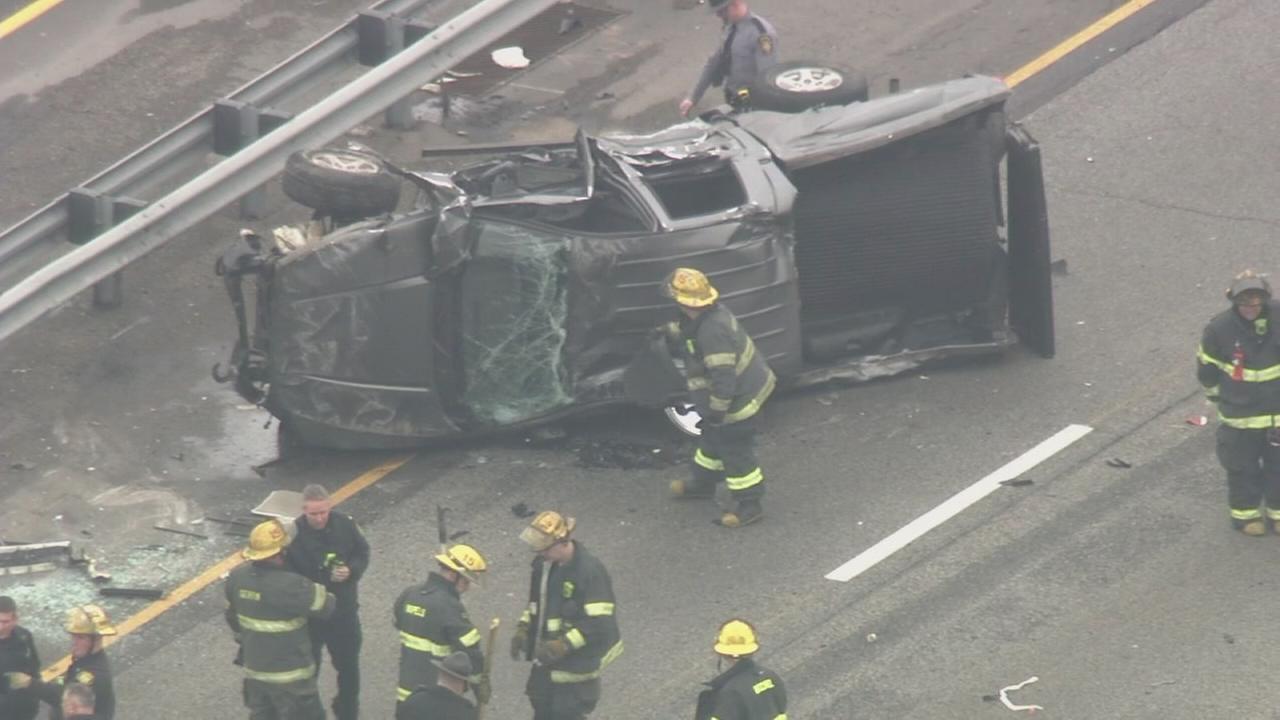 RAW VIDEO: Crash on I-95
