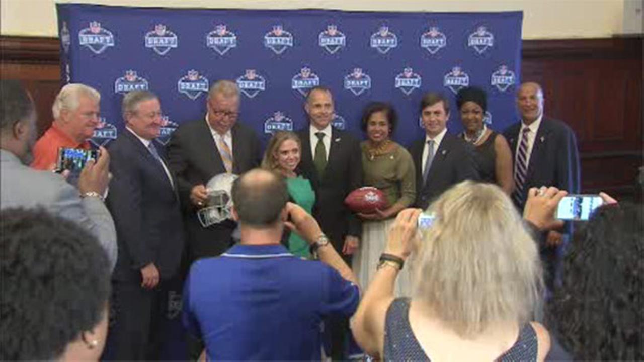 All volunteer spaces filled for NFL draft in Philadelphia