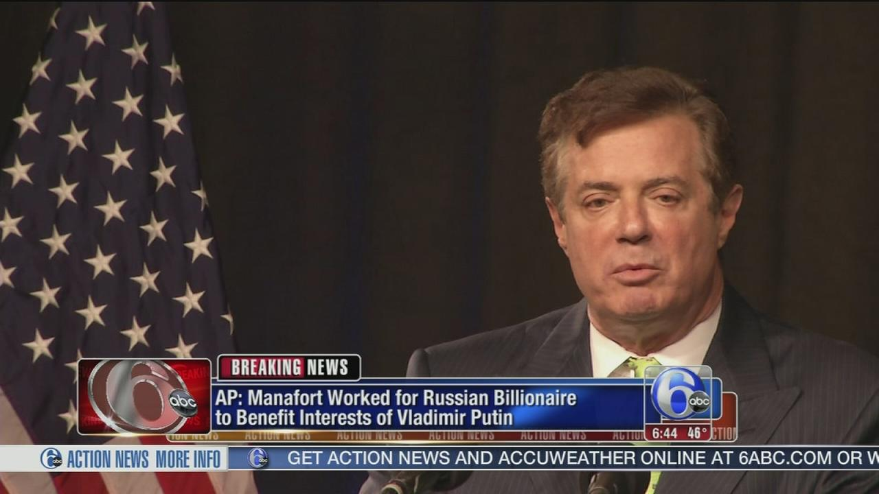 AP Exclusive: Manafort had plan to benefit Putin government