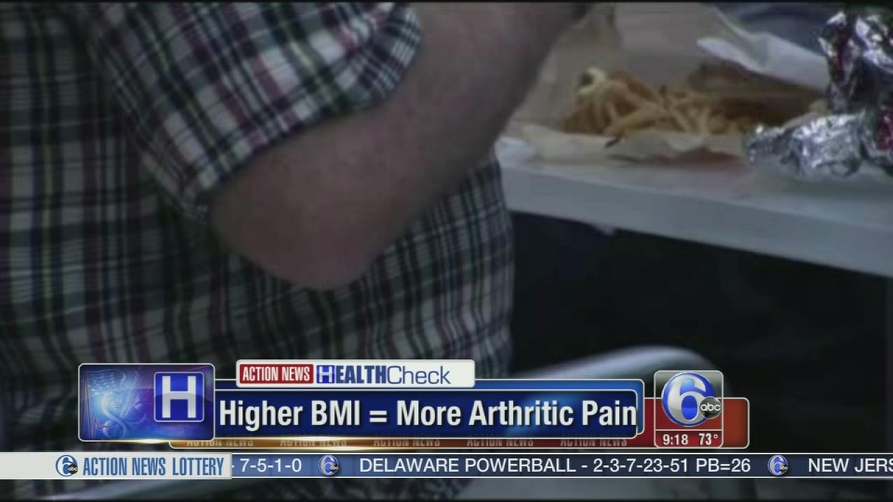 VIDEO: Higher BMI, arthritic pain link