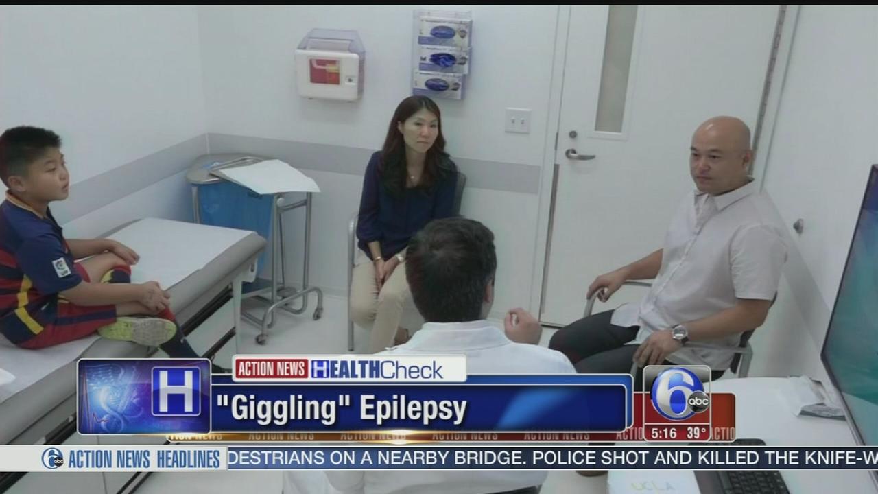 Giggle Epilepsy