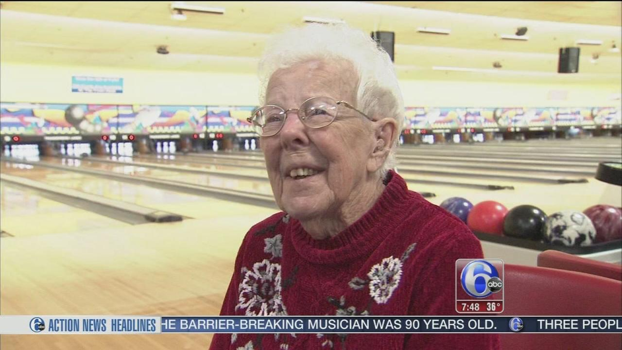 NE Phila. woman celebrates 100th birthday with bowling bash
