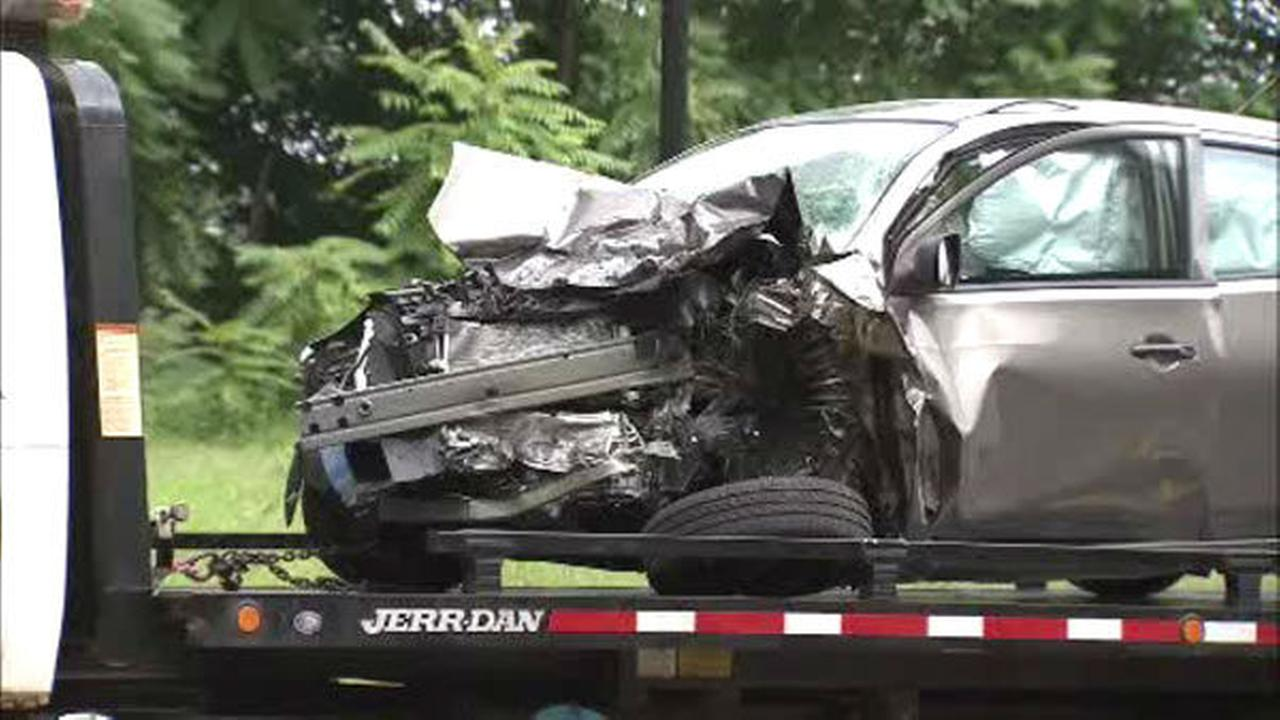 PHOTOS: Head-on crash in Abington