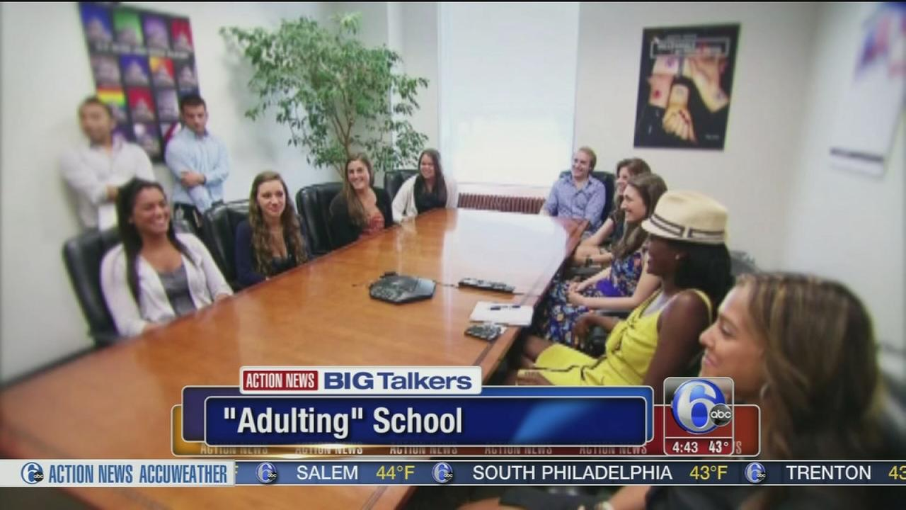 New adulting school teaches millennials how to be a grown up