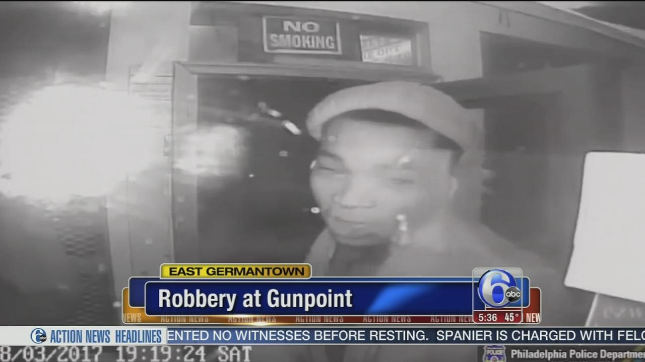 Man sought in East Germantown armed robbery