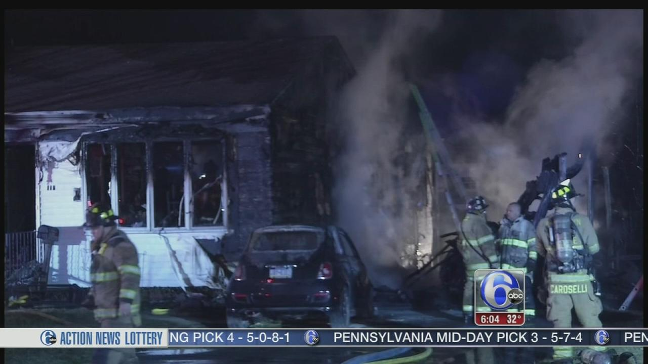 Resident and firefighter injured in Delco house blaze