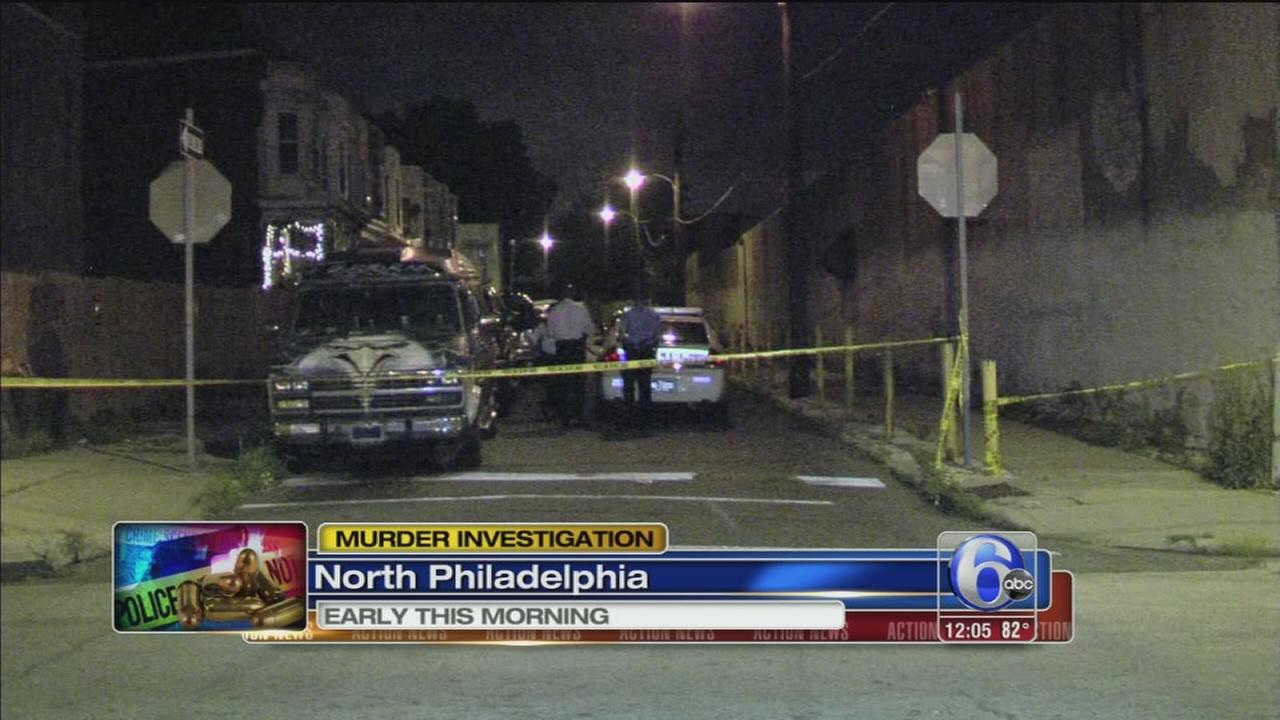 VIDEO: Mans body found in North Philadelphia