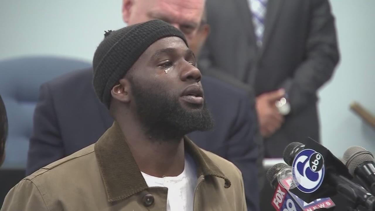 FULL VIDEO: Man honored for breaking up fight