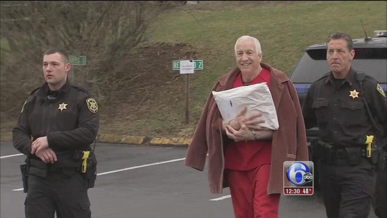 Sandusky appears before judge in bid for new trial