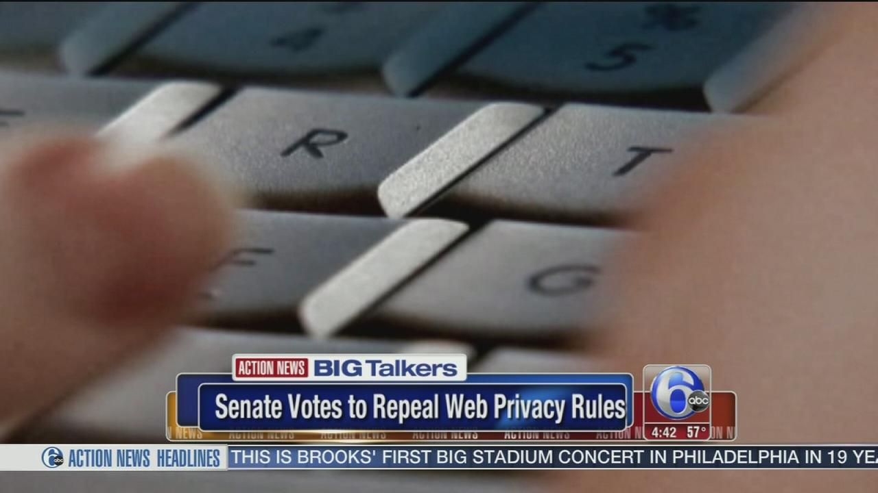 Senate votes to kill privacy rules guarding your online info