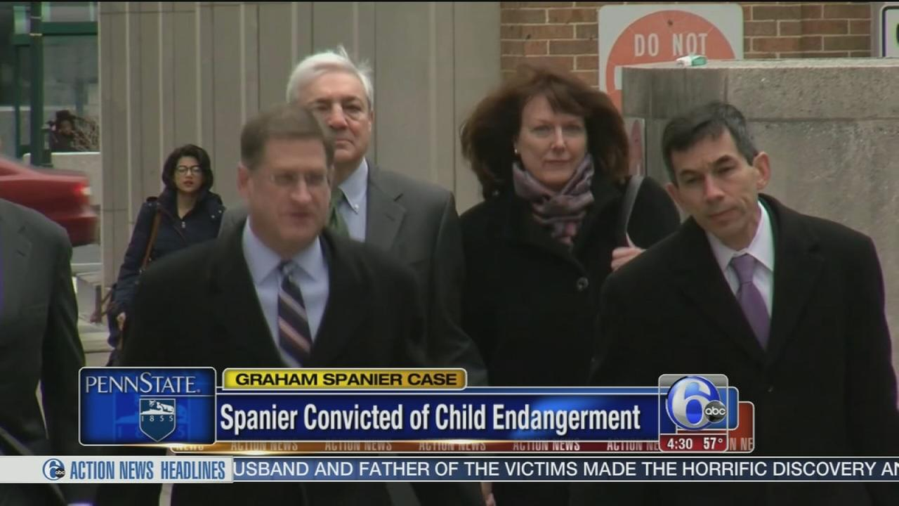 Ex-Penn State president guilty of 1 count of child endangerment