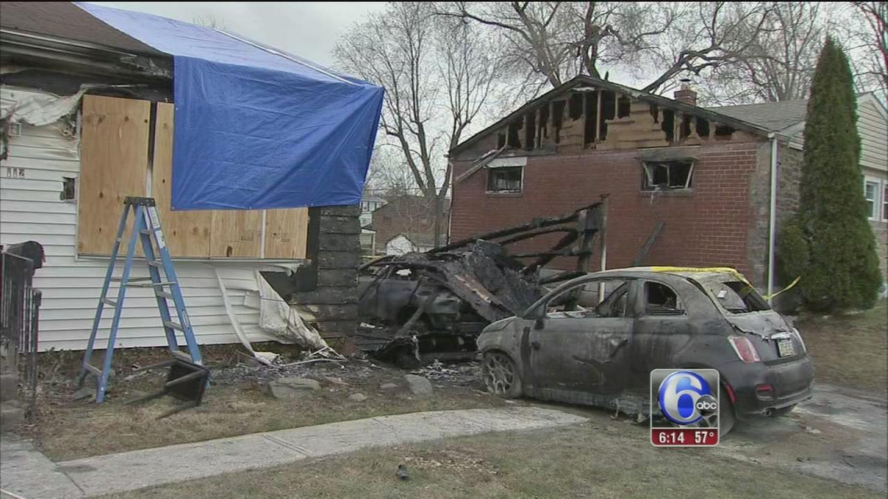 Woman rescued, firefighter injured in Delco house blaze