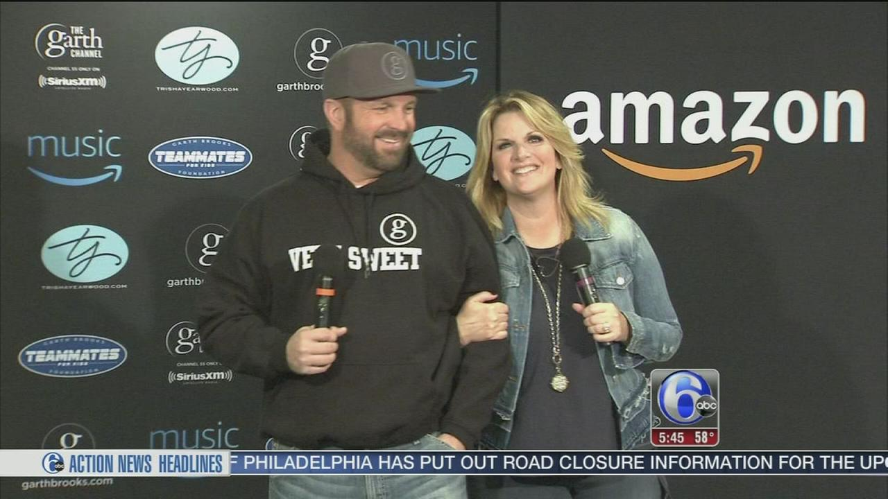 Garth Brooks returns to Philadelphia for concert series