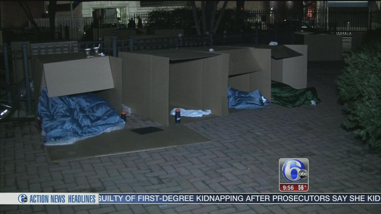 Young professionals help raise money for homeless children