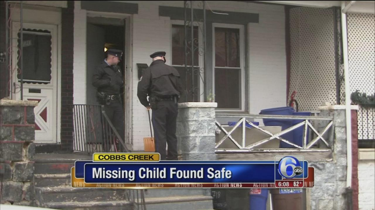 Missing boy, 6, from Cobbs Creek found safe